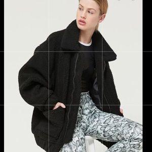 I.AM.GIA teddy black coat